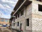 Жилой дом: площадь Минина и Пожарского, у дома №4 - ход строительства, фото 34, Ноябрь 2018