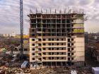 Ход строительства дома Литер 9 в ЖК Звезда Столицы - фото 42, Февраль 2020