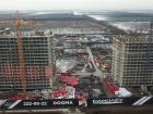 Ход строительства дома Литер 3 в ЖК Самолет 2 - фото 18, Январь 2021