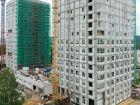 Ход строительства дома № 1 первый пусковой комплекс в ЖК Маяковский Парк - фото 13, Август 2021