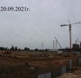 Ход строительства дома № 20 , 1 очередь в ЖК Новая Кузнечиха -