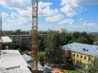 Ход строительства дома № 1 в ЖК Дворянский - фото 81, Июль 2016