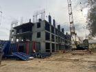 Ход строительства дома № 1, секция 1 в ЖК Заречье - фото 29, Октябрь 2020