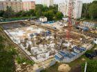 Ход строительства дома № 1 первый пусковой комплекс в ЖК Маяковский Парк - фото 98, Август 2020