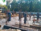 Ход строительства дома № 1 в ЖК Клевер - фото 117, Август 2018
