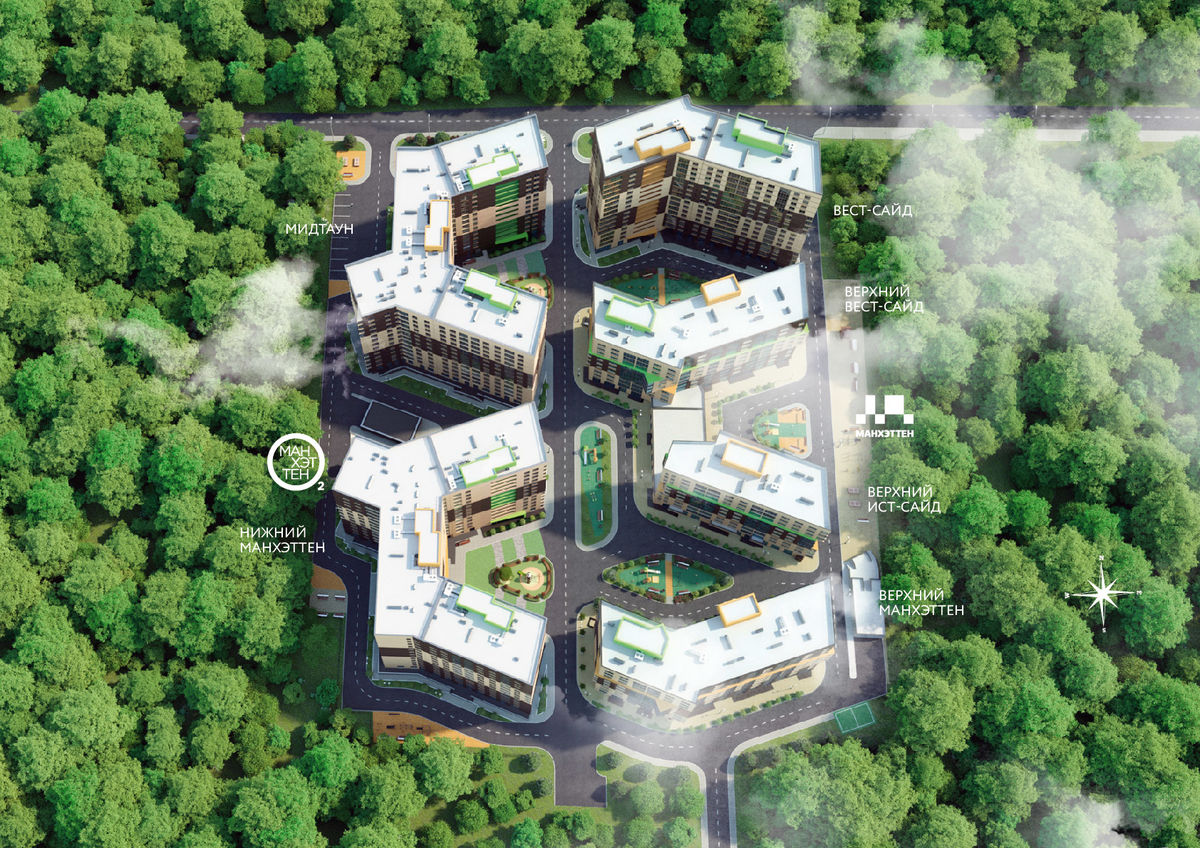 Жизнь в тени деревьев: где находятся самые зеленые ЖК Ростова