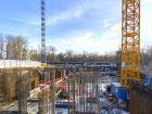 Ход строительства дома Литер 1 в ЖК Грин Парк - фото 8, Февраль 2021