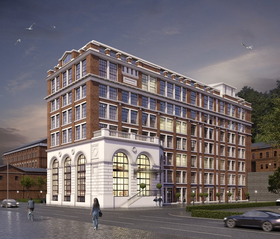 Многофункциональное здание с деловым центром и гостиницей построят около метромоста