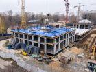Ход строительства дома № 1 первый пусковой комплекс в ЖК Маяковский Парк - фото 75, Октябрь 2020