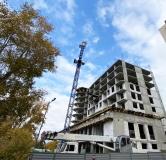 Ход строительства дома № 1 в ЖК Дом на Набережной -