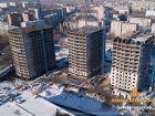 Ход строительства дома Литер 1 в ЖК Звезда Столицы - фото 99, Ноябрь 2018