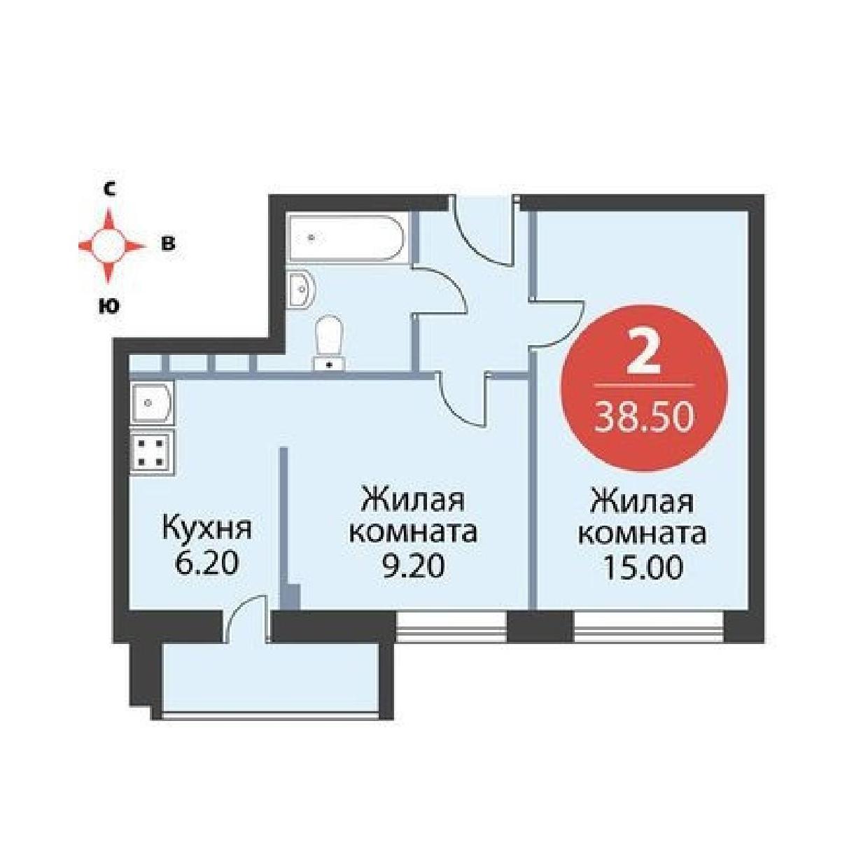 Топ-10 неудачных планировок квартир в новостройках - фото 6