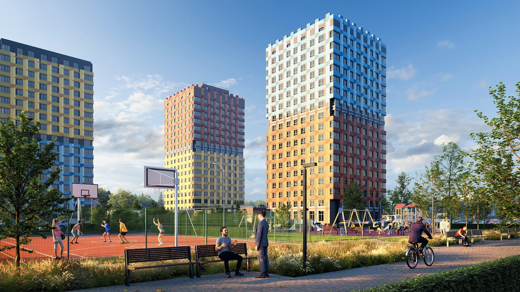 Жилой комплекс (ЖК) «Маяковский парк» в Нижнем Новгороде - фото 1