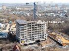 ЖК Азбука - ход строительства, фото 21, Апрель 2021