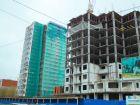 Ход строительства дома № 1 в ЖК Город чемпионов - фото 49, Апрель 2015