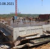 Ход строительства дома № 21 в ЖК Новая Кузнечиха -