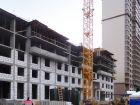 Ход строительства дома № 1 корпус 2 в ЖК Жюль Верн - фото 63, Апрель 2017
