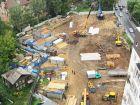 Ход строительства дома № 6 в ЖК Дом с террасами - фото 48, Август 2019